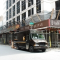 scaffold, scaffolding, st. james, pa, philly, swings, stage, stages, swing stage, suspended scaffold, overhead protection, 359