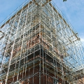 Independence Hall, maze of system, scaffold, scaffolding, Superior, 215 743-2200
