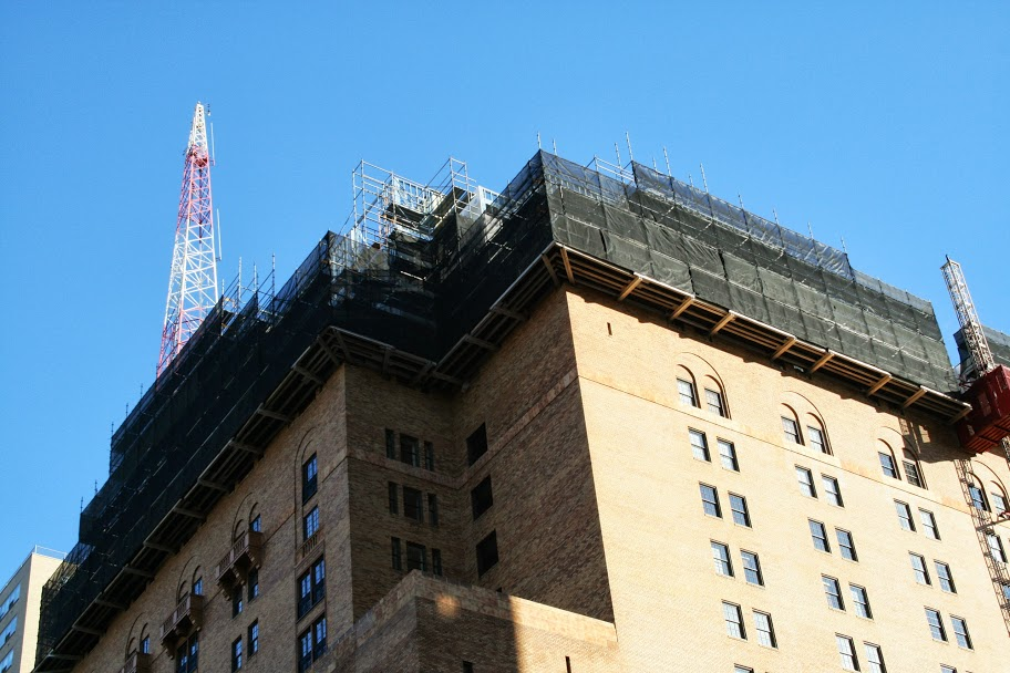 Parc Rittenhouse, superiorscaffold, scaffold, scaffolding, rent, lease, rents, rental, pa, phila, philly