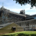 Firestone Library, Princeton University, NJ, superior scaffold, 215 743-2200, scaffolding, scaffold rents USA