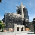 Firestone Library, Princeton University, NJ, superior scaffold, 215 743-2200, scaffolding, scaffold, rents, USA