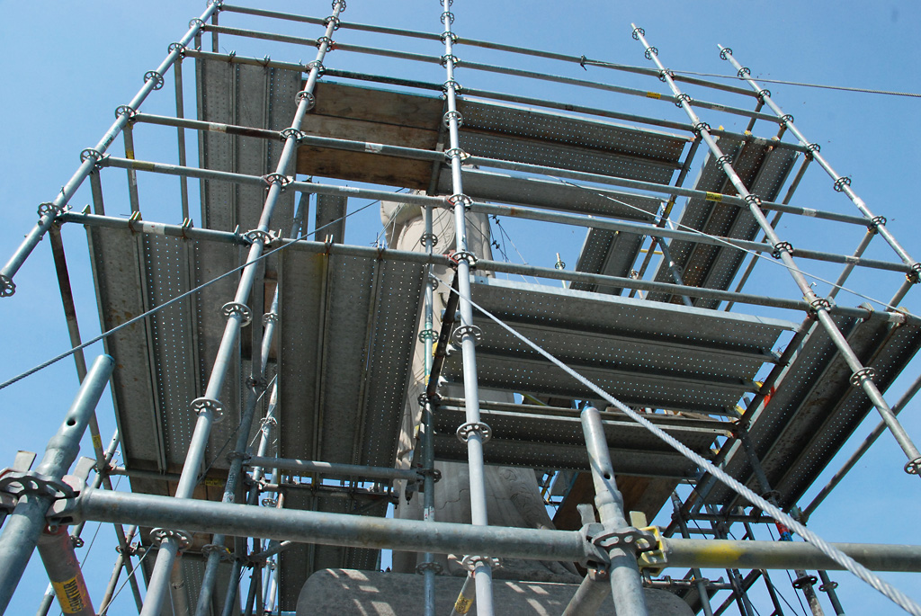 Our Lady of Lourdes Scaffolding