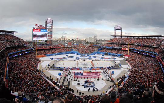 Winter Classic in full swing