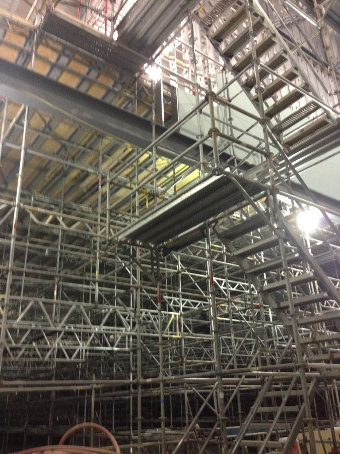 Scuse Me While I Kiss The Sky Scaffolding The New Dover