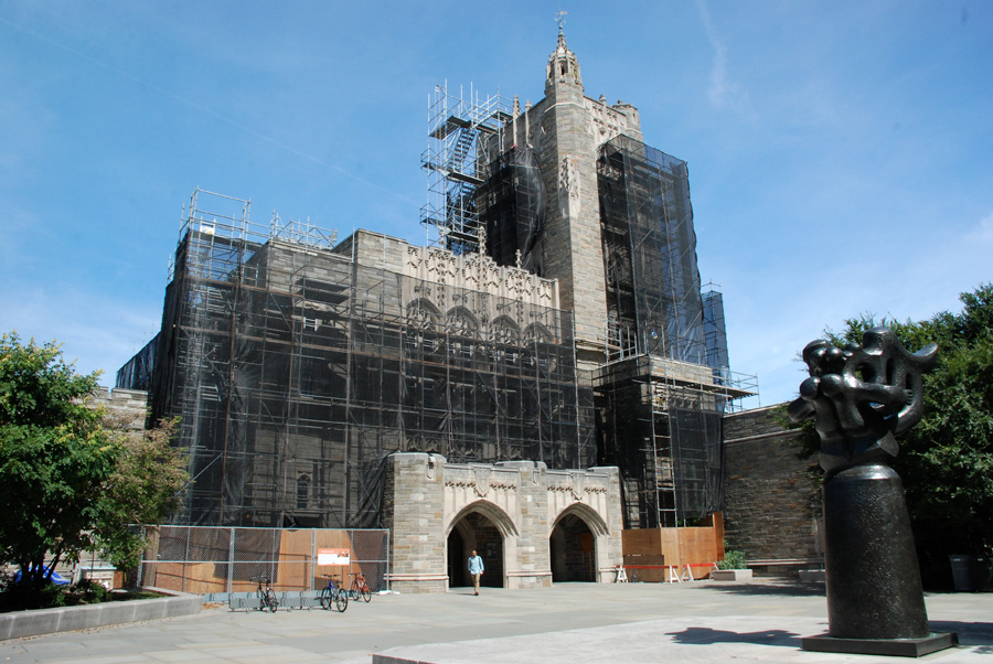 Princeton, Firestone Library, scaffold rental, scaffolding, (215) 743-2200