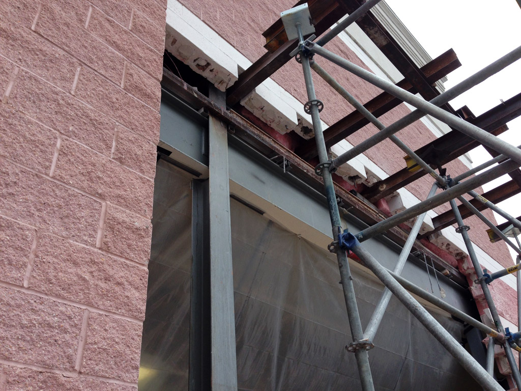 Needle Beam Shoring For Wall : Shine on shoring at bob s discount furniture superior