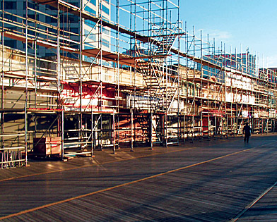 1500 Boardwalk, NJ, scaffolding, Superior Scaffold, 215 743-2200