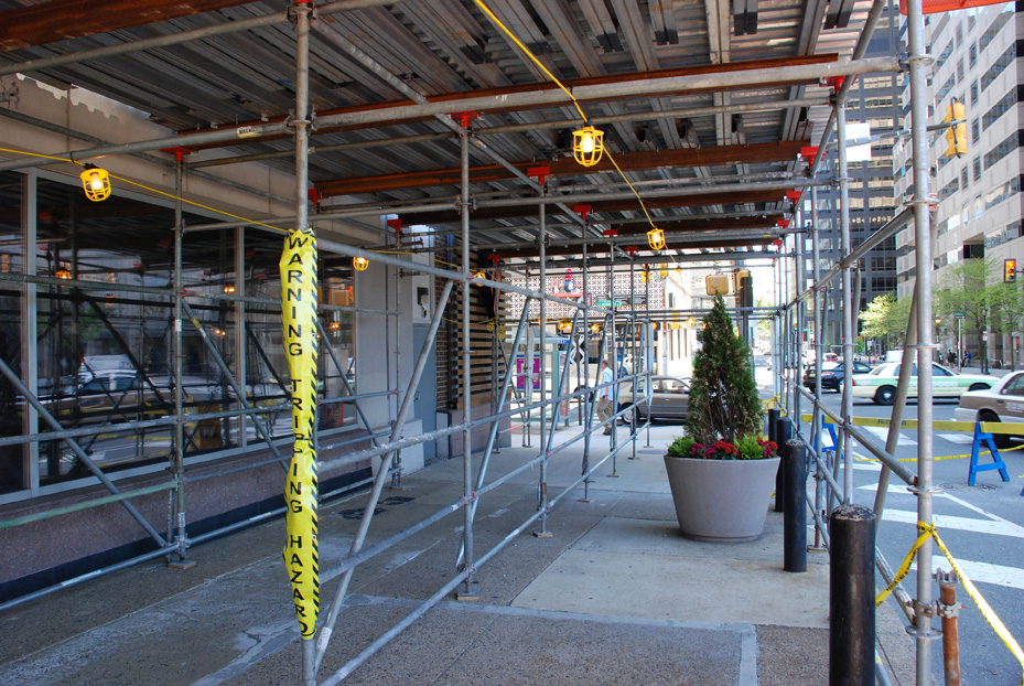 kennedy house, JFK, superior scaffold, scaffolding, USA, PA, philadelphia, rent, rents, rental, equipment, 151