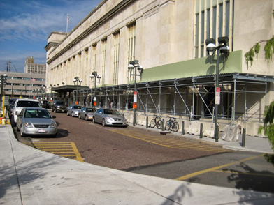 Amtrak, 30th St. Station, Philadelphia, PA, Superior Scaffold, (215) 743-2200, scaffolding, rentals