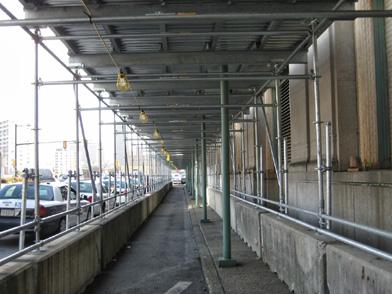 Amtrak, 30th St. Station, Philadelphia, PA, Superior Scaffold, (215) 743-2200, scaffolding, rental