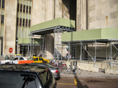 Amtrak, 30th St. Station, Philadelphia, PA, Superior Scaffold, (215) 743-2200, scaffolding, rent
