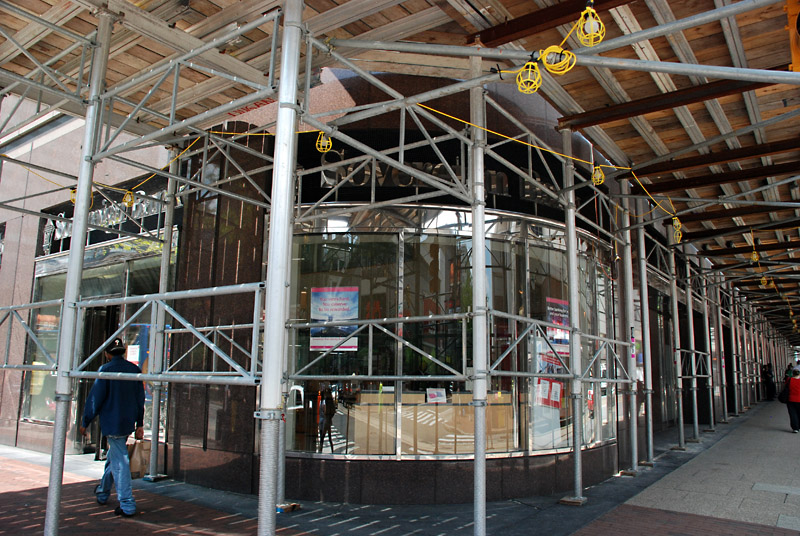 overhead protection, superior scaffold, 215 743-2200, scaffolding, rent, rents, rental, aluminum, equipment, usa, 155