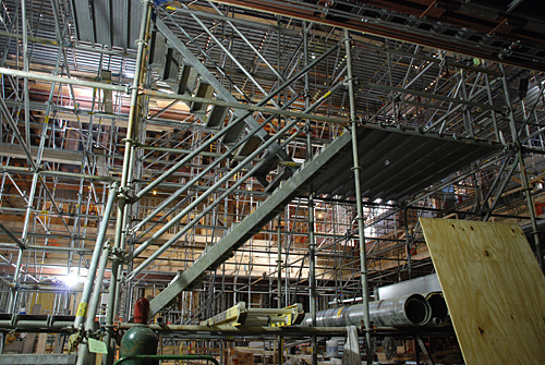 Baptist temple Church, Philadelphia, PA, scaffolding, Superior Scaffold, 215 743-2200