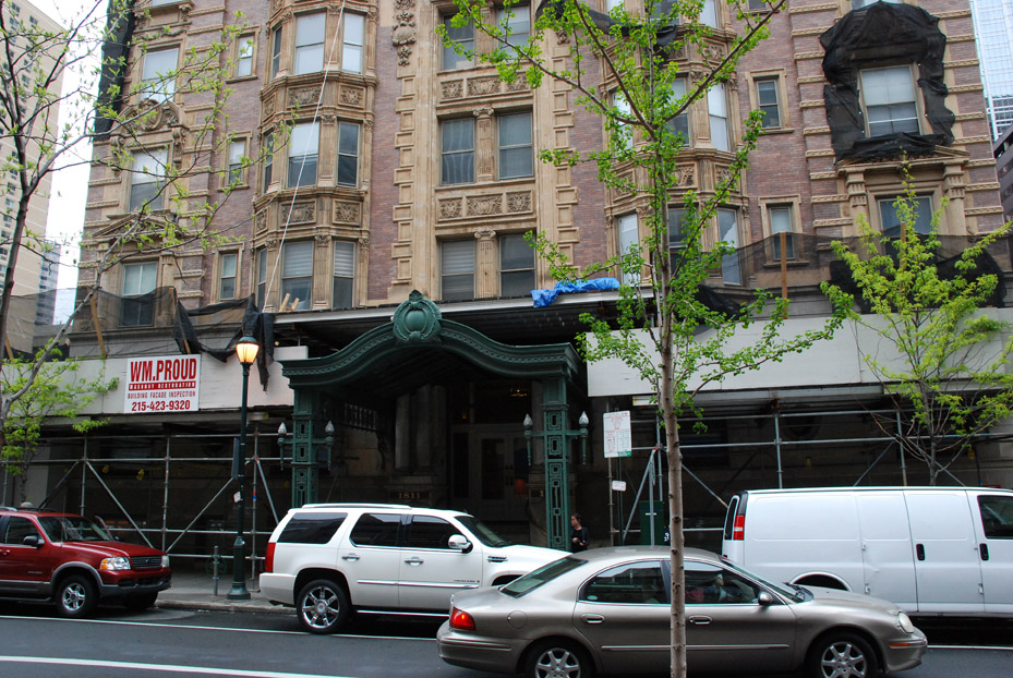 belgravia hotel, superior scaffold, pa, philly, philadelphia, scaffolding, rent, rental, rents, construction, facade, 304