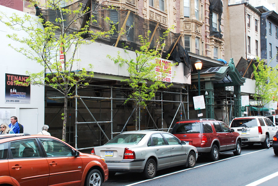 belgravia hotel, superior scaffold, pa, philly, philadelphia, scaffolding, rent, rental, rents, construction, facade, 309