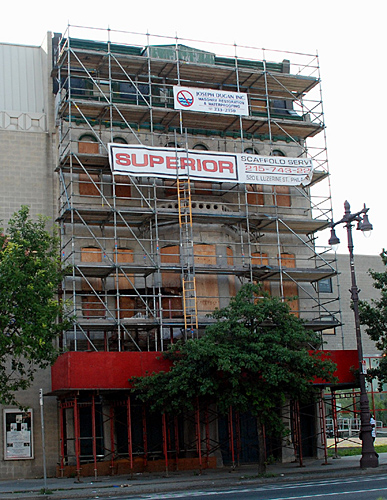 Brandywine Workshop, scaffolding, Superior Scaffold, 215 743-2200, PA, Philadelphia