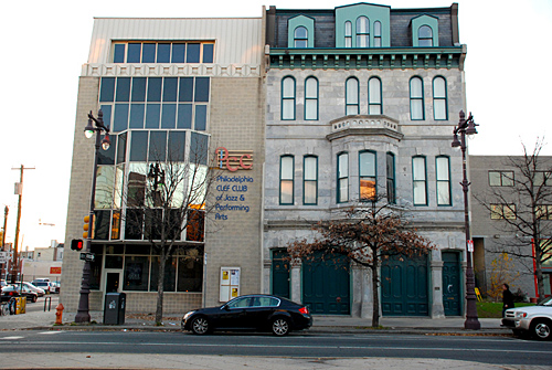 Brandywine Workshop, finished work, scaffolding, Superior Scaffold, 215 743-2200, PA, Philadelphia