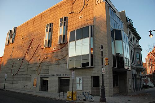 Brandywine Workshop, finished facade, Superior Scaffold, 215 743-2200