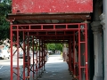 Brandywine Workshop, canopy frame, overhead protection, Superior Scaffold, 215 743-2200