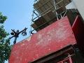 Brandywine Workshop, Scaffold, panels, overhead protection, Superior Scaffold, 215 743-2200