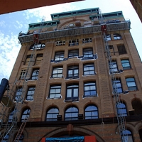 10th & Race, mast climber, Superior Scaffold, 215 743-2200, rents