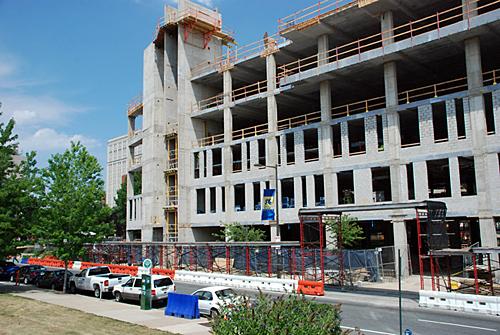Drexel University, overhead protection, philadelphia, pa, Superior Scaffold, 215 743-2200