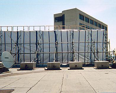 Children's Hospital, Philadelphia, PA, Scaffold, netting, Superior Scaffold, 215 743-2200, rentals