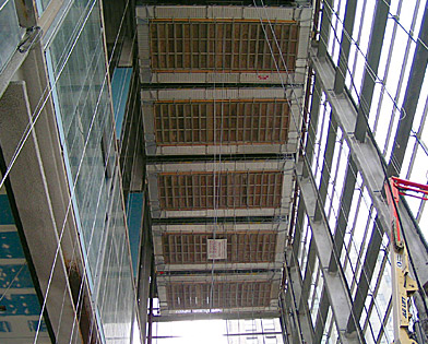 Comcast Center, Philadelphia, PA, Suspended scaffold, Superior Scaffold, 215 743-2200, rent