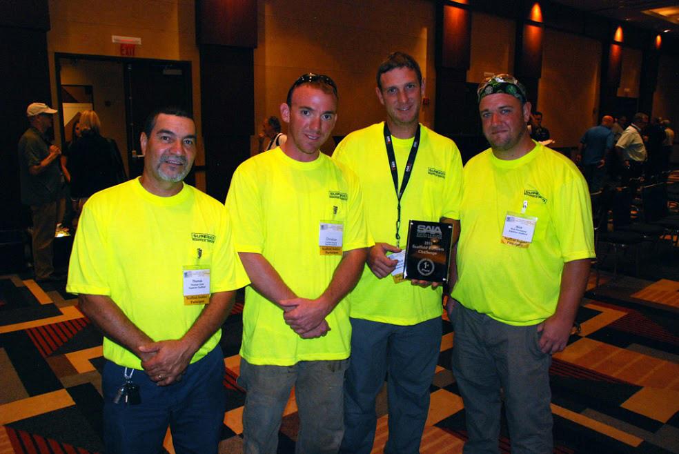 Scaffold builders challenge