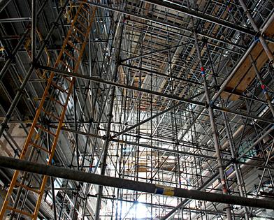 Drexel University, Papadakis Integrated Sciences Building, scaffolding, Superior Scaffold, 215 743-2200, Philadelphia, PA,