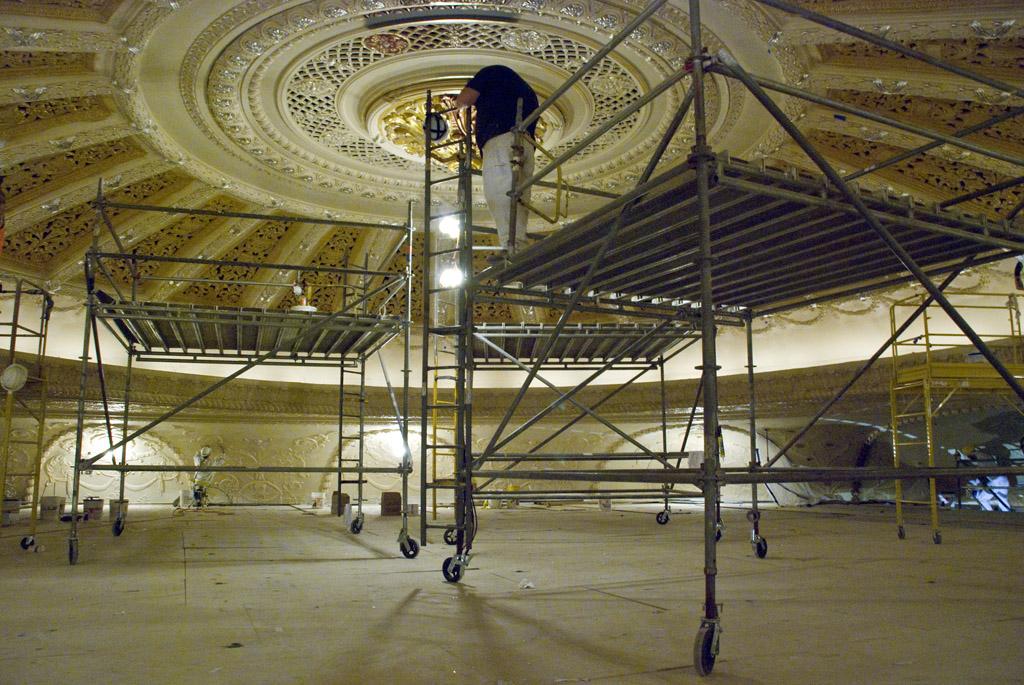 scaffolding, scaffold, rental, rents, rent, philadlphia, superior scaffold, 215 743-2200, nj, md, de, forrest theater, 425