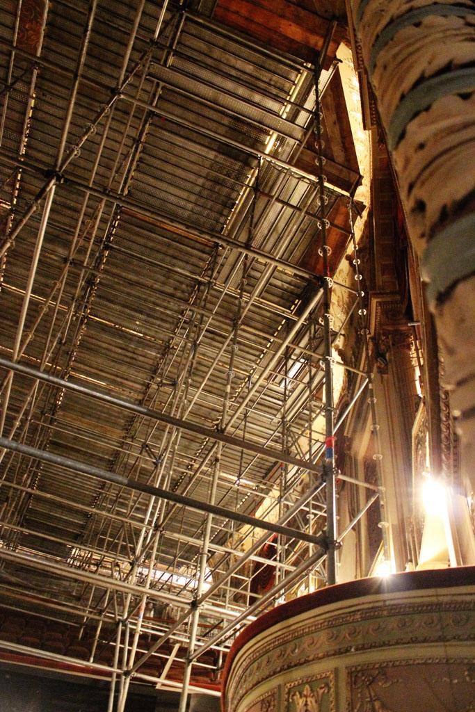 scaffolding, scaffold, rental, rents, rent, philadlphia, superior scaffold, 215 743-2200, nj, md, de, forrest theater, 5508
