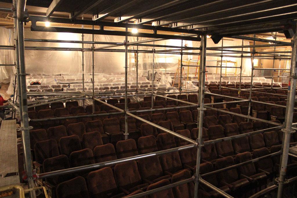 scaffolding, scaffold, rental, rents, rent, philadlphia, superior scaffold, 215 743-2200, nj, md, de, forrest theater, 5513
