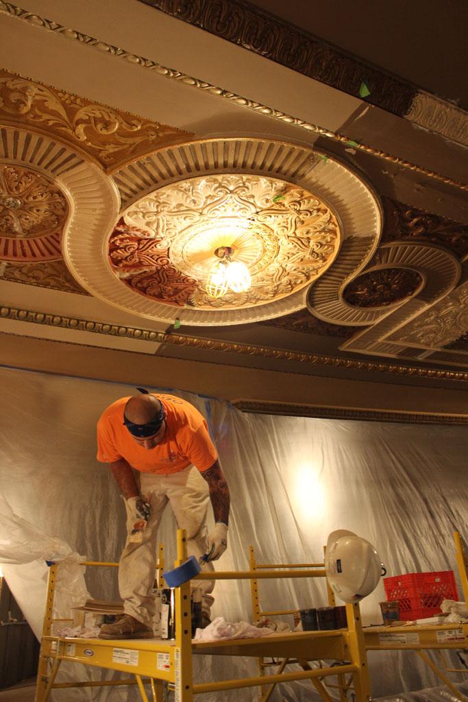scaffolding, scaffold, rental, rents, rent, philadlphia, superior scaffold, 215 743-2200, nj, md, de, forrest theater, 5521
