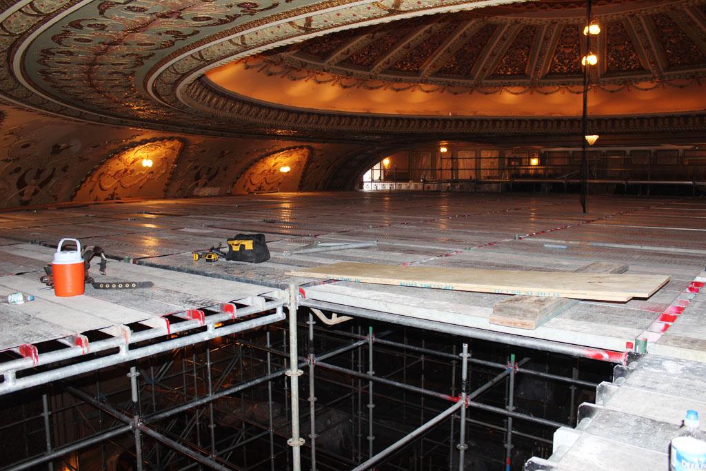 scaffolding, scaffold, rental, rents, rent, philadlphia, superior scaffold, 215 743-2200, nj, md, de, forrest theater, 5541