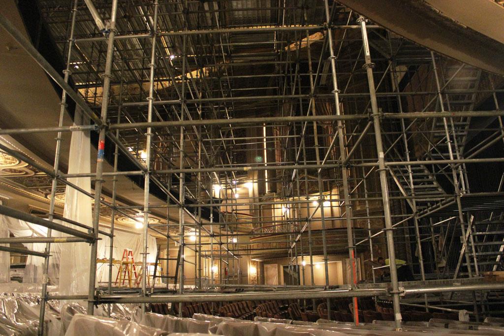 scaffolding, scaffold, rental, rents, rent, philadlphia, superior scaffold, 215 743-2200, nj, md, de, forrest theater, 5552