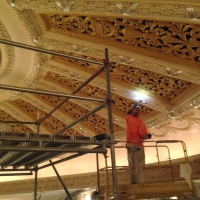 scaffolding, scaffold, rental, rents, rent, philadlphia, superior scaffold, 215 743-2200, nj, md, de, forrest theater, 3238