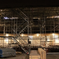scaffolding, scaffold, rental, rents, rent, philadlphia, superior scaffold, 215 743-2200, nj, md, de, forrest theater, 5503