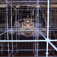 scaffolding, scaffold, rental, rents, rent, philadlphia, superior scaffold, 215 743-2200, nj, md, de, forrest theater, 5516