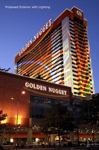 Golden Nugget Casino, Atlantic City, NJ, artist rendering, Superior Scaffold, 215 743-2200