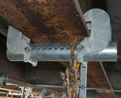 Hanging Bridge Platform, clamp, Superior Scaffold, 215 743-2200
