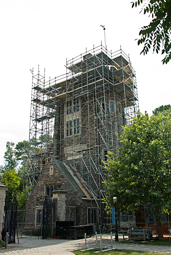 Henry Hall, Princeton University, NJ, Scaffolding, Superior Scaffold, 215 743-2200, rent