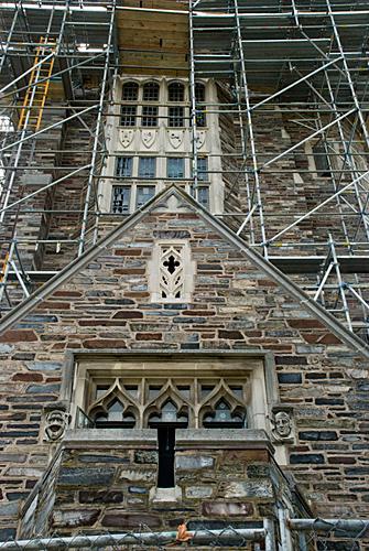 Henry Hall, Princeton University, NJ, Entry, Scaffolding, Superior Scaffold, 215 743-2200, rental