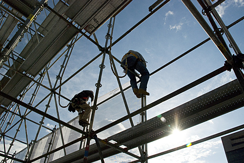 1Independence Hall, best Scrim shot, scaffold, scaffolding, Superior, 215 743-2200