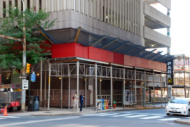 Kennedy House, aluminum canopy, Superior Scaffold, scaffold rental, scaffolding, PA
