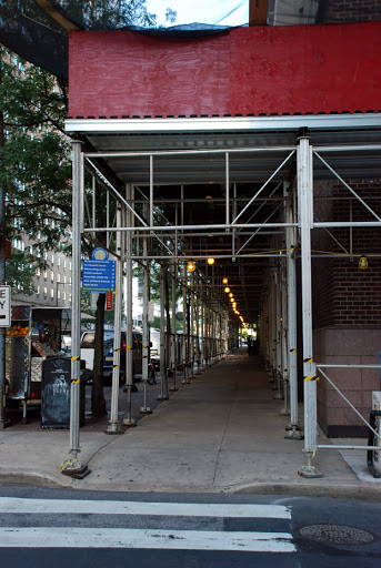 Kennedy House, custom canopy, Superior Scaffold, scaffold rental, scaffolding, PA, (215) 743-2200
