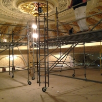scaffolding, scaffold, rental, rents, rent, philadlphia, superior scaffold, 215 743-2200, nj, md, de, forrest theater, 3240