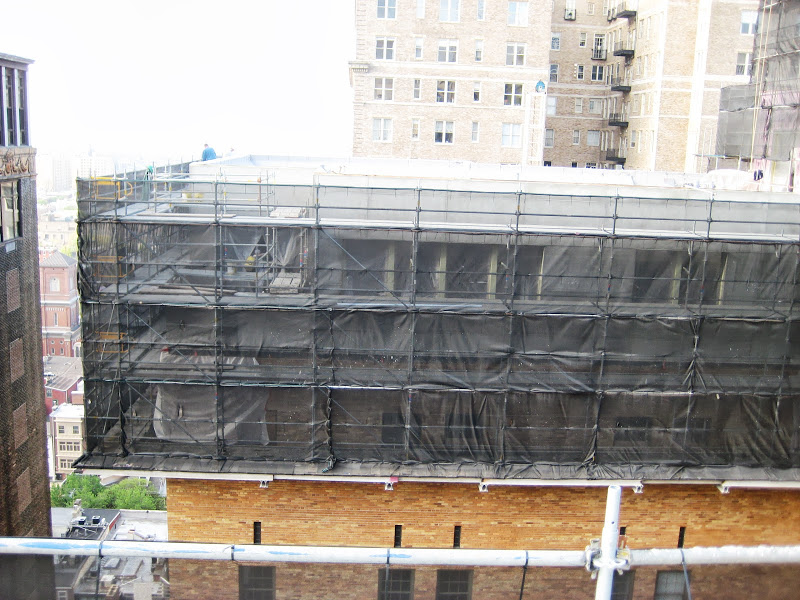 Parc Rittenhouse, superior scaffold, scaffold, netting, (215) 743-2200