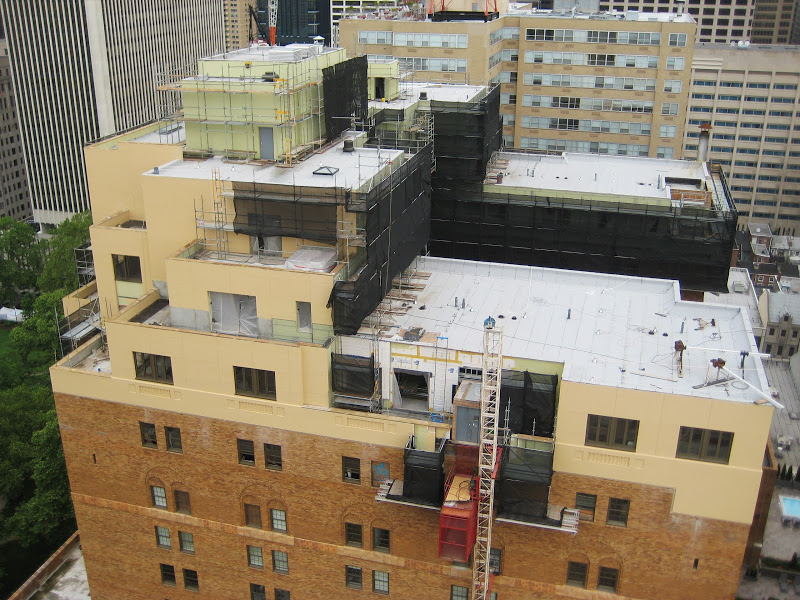 Parc Rittenhouse, cantilever, superior scaffold, cantilever, pa