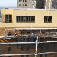 Parc Rittenhouse, cantilever, superior scaffold, cantilever, pa